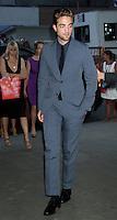 NEW YORK, NY - August 13, 2012: Robert Pattinson at the New York premiere of Cosmopolis at The MoMA in New York City. © RW/MediaPunch Inc. /NortePhoto.com*<br /> <br /> **CREDITO*OBLIGATORIO** <br /> *No*Venta*A*Terceros*<br /> *No*Sale*So*third*<br /> *** No Se Permite Hacer Archivo**