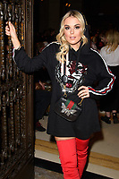 Tallia Storm at the Pam Hogg show during London Fashion Week AW18, at the Freemasons' Hall in London, UK. <br /> 16 February  2018<br /> Picture: Steve Vas/Featureflash/SilverHub 0208 004 5359 sales@silverhubmedia.com