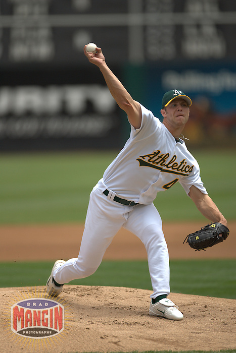 Rich Harden. Baseball: Toronto Blue Jays vs Oakland Athletics. Oakland, CA 7/20/2004 MANDATORY CREDIT: Brad Mangin