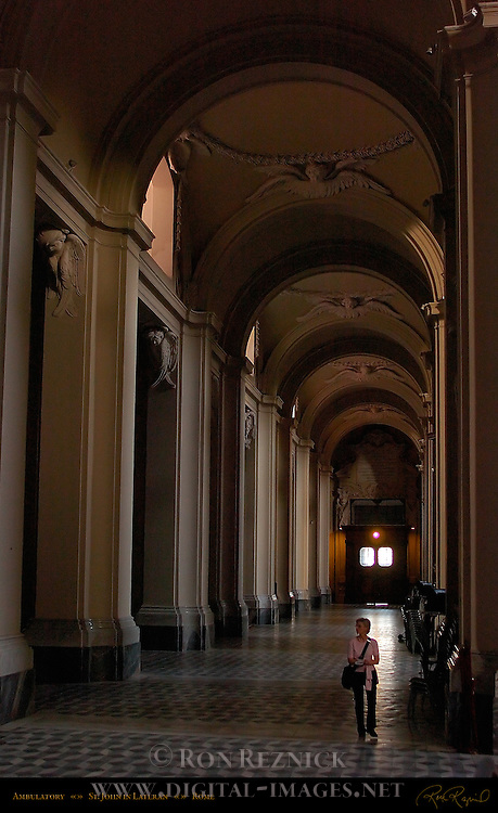 Side Nave Ambulatory St John in Lateran Rome