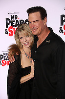 """Patrick Warburton and wife<br /> at the """"Mr. Peabody and Sherman"""" Los Angeles Premiere, Village Theatre, Westwood, CA 03-05-14<br /> Dave Edwards/DailyCeleb.com 818-249-4998"""