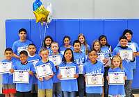 Photo Submitted Southwest City Elementary School (where incredible happens) announced the Incredible Indians for the ending of the 2018-2019 school year beginning with (front, left), Kyson Clark, Weston Reece, Lindsay Archaga, Christian Maza and Ashton Cooper; (middle, left), Angel Ruiz, Anthony Rosiles, Carter Huston, Antony Archaga, Allison Parker and Gabrial Alejandro; and (back, left), Alejandro Cejudo, Sarai Rodriquez, Ruby Sanchez, Abbigail Reece, Juana Lopez and Josue Say.