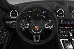 Car pictures of steering wheel view of a 2017 Porsche 718 Cayman S 3 Door Coupe