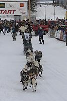 Lachlan Clarke Willow restart Iditarod 2008.