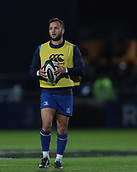 29th September 2017, RDS Arena, Dublin, Ireland; Guinness Pro14 Rugby, Leinster Rugby versus Edinburgh; Jamison Gibson-Park (Leinster) warms up