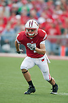 Wisconsin Badgers wide receiver Jared Abbrederis (4) during an NCAA college football game against the San Jose State Spartans on September 11, 2010 at Camp Randall Stadium in Madison, Wisconsin. The Badgers beat San Jose State 27-14. (Photo by David Stluka)