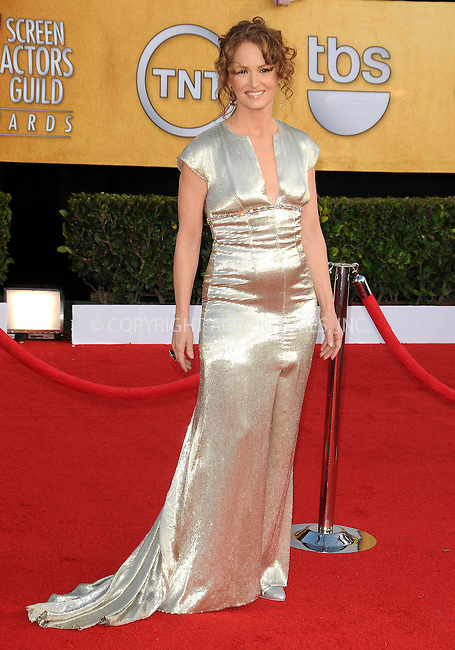 WWW.ACEPIXS.COM . . . . . ....January 30 2011, Los Angeles....Actress Melissa Leo arriving at the 17th Annual Screen Actors Guild Awards held at The Shrine Auditorium on January 30, 2011 in Los Angeles, CA....Please byline: PETER WEST - ACEPIXS.COM....Ace Pictures, Inc:  ..(212) 243-8787 or (646) 679 0430..e-mail: picturedesk@acepixs.com..web: http://www.acepixs.com