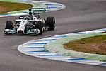 JEREZ. SPAIN. FORMULA 1<br />2013/14 en el Circuito de Jerez 31/01/2014 La imagen muestra a Nico Rosberg de Mercedes AMG Petronas  LP / Photocall3000