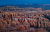 Bryce Canyon National Park's hoodoos at sunset.