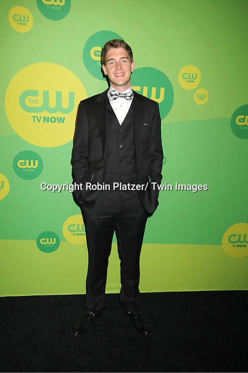 Brandon Dooling attends the CW Network's 2013 Upfront Presentation on May 16, 2013 at the London Hotel in New York City.