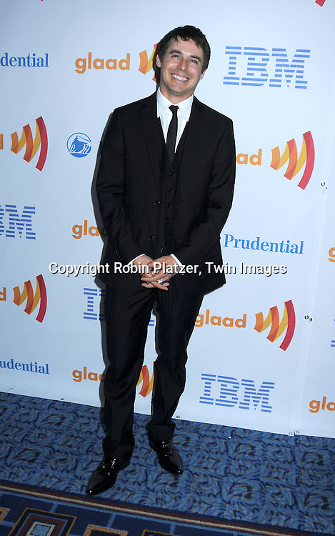 Brett Claywell of One Life to Live posing for photographers at The 21st Annual GLAAD Media Awards on March 13, 2010 at The Marriott Marquis Hotel in New York City. The Honorees wereJoy Behar and Cynthia Nixon.