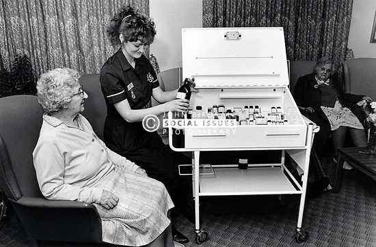 Claremont nursing home, Nottingham UK 1988
