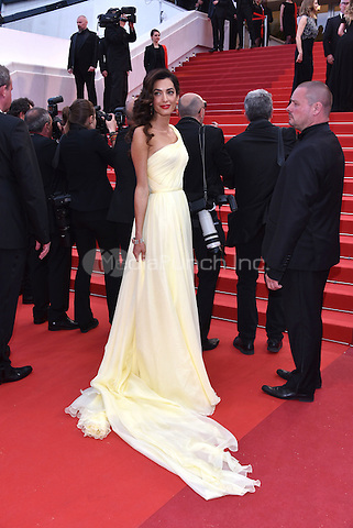 Amal Clooney at Money Monster screening during the 69th International Cannes Film Festival, France May 12, 2016.<br /> CAP/PL<br /> &copy;Phil Loftus/Capital Pictures /MediaPunch ***NORTH AND SOUTH AMERICA ONLY***