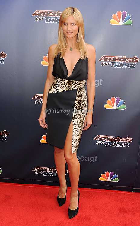 Heidi Klum arriving at 'America's Got Talent Red Carpet 2014' held at The Dolby Theatre Los Angeles, CA. April 22, 2014.