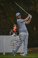 Brandon Grace (RSA) watches his tee shot on 11 during round 2 of the World Golf Championships, Mexico, Club De Golf Chapultepec, Mexico City, Mexico. 3/2/2018.<br /> Picture: Golffile | Ken Murray<br /> <br /> <br /> All photo usage must carry mandatory copyright credit (&copy; Golffile | Ken Murray)