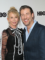 """LOS ANGELES, CA- Trudie Styler, Christopher Racster, At 2017 Outfest Los Angeles LGBT Film Festival - Closing Night Gala Screening Of """"Freak Show"""" at The Theatre at Ace Hotel, California on July 16, 2017. Credit: Faye Sadou/MediaPunch"""