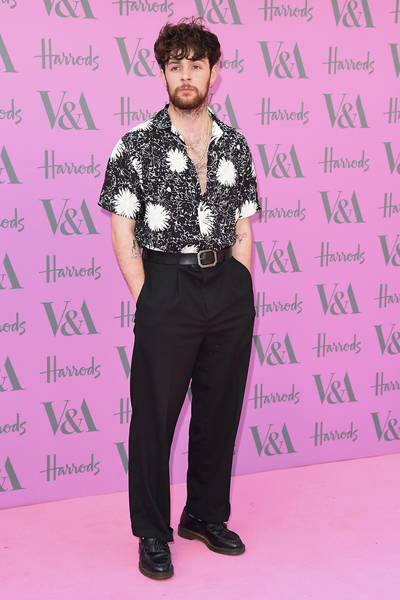 Tom Grennan<br /> arriving for the V&A Summer Party 2018, London<br /> <br /> ©Ash Knotek  D3410  20/06/2018