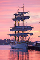 Mircea , Tall Ships, Fish Pier,  Boston Harbor, Boston, MA (dawn)