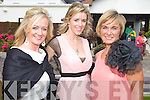 Carmel McGillycuddy, Denise Lynch and Sandra O'Brien at a Garden party in aid of the Hospice at Ballygarry house hotel on Sunday were