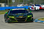 IMSA WeatherTech SportsCar Championship<br /> Sebring February Test<br /> Sebring, Florida, USA<br /> Thursday 22 February 2018<br /> #36 CJ Wilson Racing Acura NSX, GTD: <br /> World Copyright: Richard Dole<br /> LAT Images