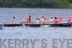 Action from the Pink race in aid of Breast Cancer research at the Killarney Regatta on Sunday ..