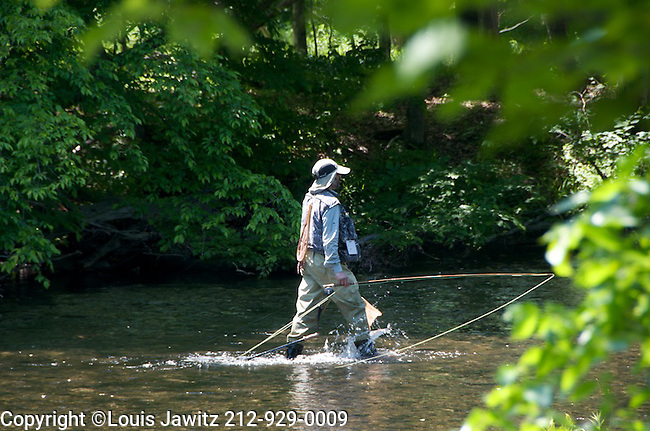 Fisherman, neversink, RIVER,	Tranquil Scene, Sport,