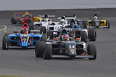 2017 F4 US Championship<br /> Rounds 4-5-6<br /> Indianapolis Motor Speedway, Speedway, IN, USA<br /> Sunday 11 June 2017<br /> #24 Benjamnin Pedersen and #41 Braden Eves make podiums  during three race weekend at Indy<br /> World Copyright: Dan R. Boyd<br /> LAT Images