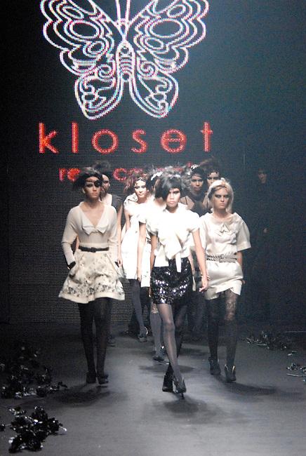 Kloset Red Carpet Rocky Rose collection for the Bangkok International Fashion Week