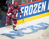 Tyler Moy (Harvard - 2) - The University of Minnesota Duluth Bulldogs defeated the Harvard University Crimson 2-1 in their Frozen Four semi-final on April 6, 2017, at the United Center in Chicago, Illinois.