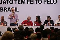 SAO PAULO, SP - 24.03.2017 - LULA-SP - Ex-presidente Luiz In&aacute;cio lula da Silva comparece ao semin&aacute;rio: &quot;O que a Lava Jato tem feito pelo Brasil&quot;, no hotel Pestana, na regi&atilde;o central de S&atilde;o Paulo na manh&atilde; desta sexta-feira (24).<br /> <br /> (Foto: Fabricio Bomjardim / Brazil Photo Press)