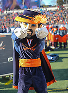 Annapolis, MD - December 28, 2017: Virginia Cavaliers mascot during the game between Virginia and Navy at  Navy-Marine Corps Memorial Stadium in Annapolis, MD.   (Photo by Elliott Brown/Media Images International)