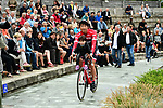 Beppu Fumiyuki (JPN) Trek-Segafredo at sign on before the start of Stage 6 of the Criterium du Dauphine 2017, running 147.5km from Parc des Oiseaux - Villars-les-Dombes to La Motte-Servolex, France. 9th June 2017. <br /> Picture: ASO/A.Broadway | Cyclefile<br /> <br /> <br /> All photos usage must carry mandatory copyright credit (&copy; Cyclefile | ASO/A.Broadway)