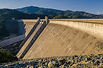 Spillway on Shasta Dam, Shasta County, California