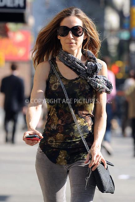 WWW.ACEPIXS.COM . . . . . ....April 8 2010, New York City....Actress Sarah Jessica Parker took her son James to school in the West Village on April 8 2010 in New York City....Please byline: KRISTIN CALLAHAN - ACEPIXS.COM.. . . . . . ..Ace Pictures, Inc:  ..tel: (212) 243 8787 or (646) 769 0430..e-mail: info@acepixs.com..web: http://www.acepixs.com
