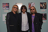 "Joe Walsh of the Eagles, Jeff Lynne of ELO,  and Tom Petty - photographed at the premiere screening of the documentary film ""Mr. Blue Sky"" at The Grammy Museum in Los Angeles, CA USA - September 12, 2012.  Photo credit:  Kevin Estrada /  IconicPix"