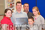 KICTHEN: Looking over the Kichens on display at the Kerry Homes and Garden Show at the Dan Spring Road, Tralee, on Saturday, l-r: Shauna, Brian Enright, Darren Jones, Eimear Culhane and Dylan Enright..