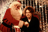 Dec 1984: THE CURE - Robert Smith at Christmas