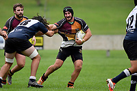 Harper Lock Shield Rugby - Upper Hutt Rams RFC v Petone  at Maidstone Park, Upper Hutt, New Zealand on Saturday 31 March 2018.<br /> Photo by Masanori Udagawa. <br /> www.photowellington.photoshelter.com