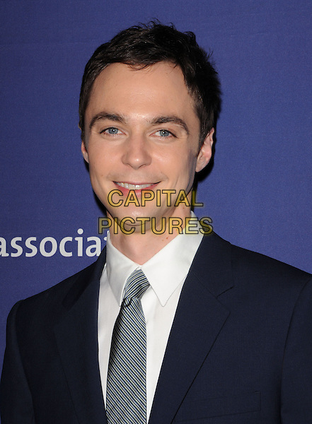 "JIM PARSONS .at The 18th Annual ""A Night at Sardi's"" Fundraiser & Awards Dinner held at The Beverly Hilton Hotel in The Beverly Hills, California, USA, March 18th 2010..portrait headshot grey gray tie black white shirt                                               .CAP/RKE/DVS.©DVS/RockinExposures/Capital Pictures."