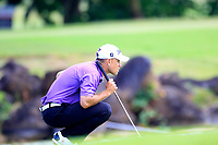 Louis De Jager (RSA) during the final round of the Afrasia Bank Mauritius Open played at Heritage Golf Club, Domaine Bel Ombre, Mauritius. 03/12/2017.<br /> Picture: Golffile   Phil Inglis<br /> <br /> <br /> All photo usage must carry mandatory copyright credit (&copy; Golffile   Phil Inglis)