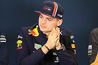 31st October 2019; Circuit of the Americas, Austin, Texas, United States of America; F1 United States Grand Prix, team arrival day; Aston Martin Red Bull Racing, Max Verstappen - Editorial Use