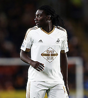Bafetibis Gomis of Swansea City during the Capital One Cup match between Hull City and Swansea City played at the Kingston Communications Stadium, Hull