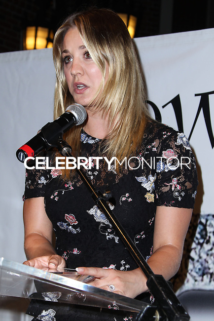 "BEVERLY HILLS, CA - OCTOBER 27: Actress Kaley Cuoco attends the ""Bow Wow Beverly Hills"" Presents The Big Bark Theory Halloween Event benefiting The Amanda Foundation held at Two Rodeo Drive on October 27, 2013 in Beverly Hills, California. (Photo by Xavier Collin/Celebrity Monitor)"