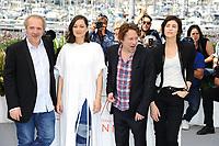 Arnaud DESPLECHIN, Marion COTILLARD, Charlotte GAINSBOURG, Mathieu AMALRIC - CANNES 2017 - PHOTOCALL 'LES FANTOMES D'ISMAEL'