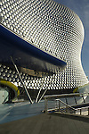 The futuristic looking Selfridges store viewed from the Bullring Birmingham England