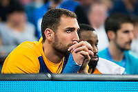 Herbalife Gran Canaria's player Pablo Aguilar during the match of the semifinals of Supercopa of La Liga Endesa Madrid. September 23, Spain. 2016. (ALTERPHOTOS/BorjaB.Hojas)