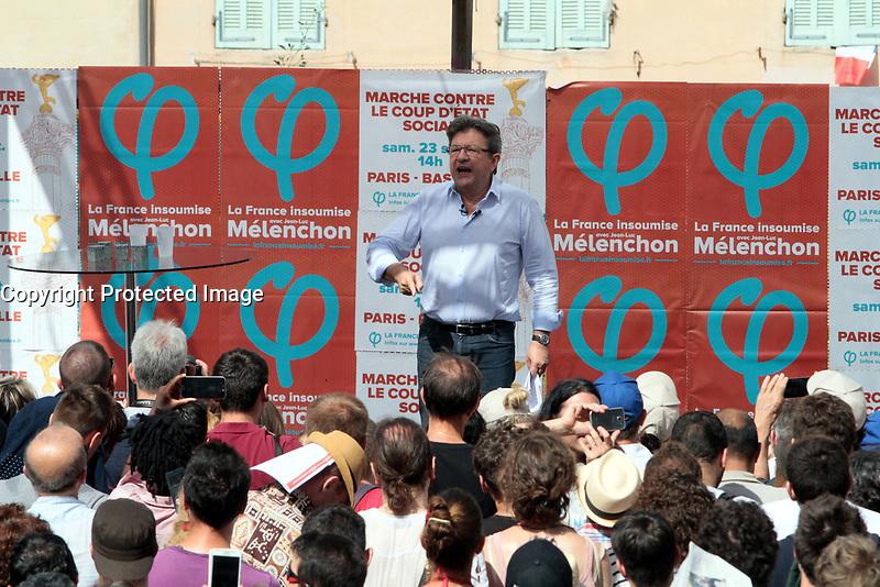 JEAN-LUC MELENCHON - DISCOURS DE CLOTURE DES AMFIS D'ETE A MARSEILLE, FRANCE, LE 27/08/2017. # JEAN-LUC MELENCHON AUX AMFIS D'ETE A MARSEILLE