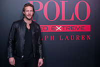 Australian actor Luke Bracey pose to the media during the presentation of Ralph Lauren's new fragrance in Madrid, Spain. February 01, 2017. (ALTERPHOTOS/BorjaB.Hojas) /NORTEPHOTO.COM