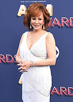 LAS VEGAS, NV - APRIL 15:   Reba McEntire at the 53rd Annual Academy of Country Music Awards at MGM Grand Garden Arena on April 15, 2018 in Las Vegas, Nevada. (Photo by Scott Kirkland/PictureGroup)