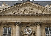 General view of the Bordeaux Palais de la Bourse, Place de la Bourse, Bordeaux, Nouvelle-Aquitaine, France on 16.10.19.